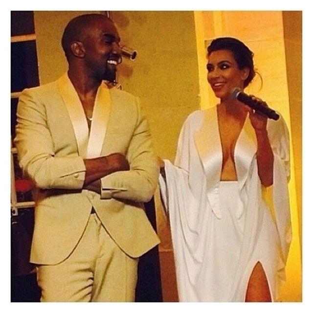 Kanye Kim Wedding: PHOTOS: Guests At Kim K And Kanye West Wedding Ceremony