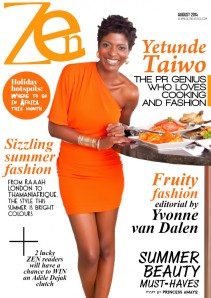 Zen+Magazine+Africa+August+2014+Cover+with+Yetunde+Taiwo1-755x1067
